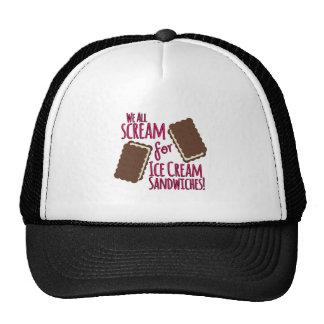 We All Scream Trucker Hat