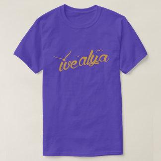 We Alya Deluxe - Purple Color T-Shirt