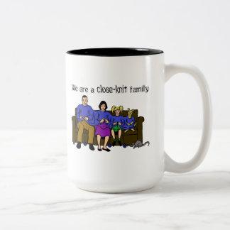 We are a Close Knit Family Mug