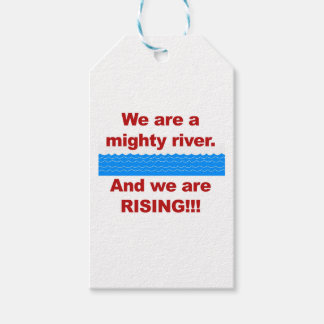 We Are a Mighty River and We Are Rising Pack Of Gift Tags