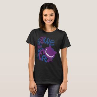We Are All airborne magnetic detection Here T-Shirt