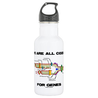 We Are All Coded For Genes (DNA Replication) 532 Ml Water Bottle