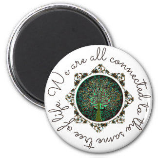 We Are All Connected Magnet