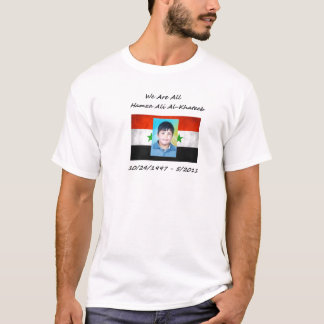 We Are All Hamza Ali Al-Khateeb T-Shirt