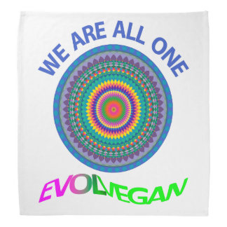 WE ARE ALL ONE - BANDANA