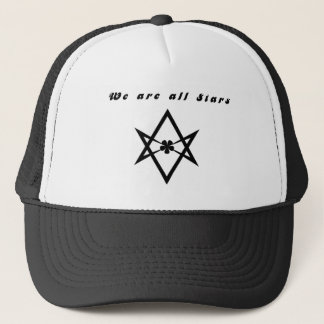 we are all stars trucker hat