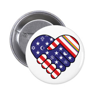 We are America 2 Inch Round Button