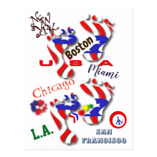 We are America Postcard