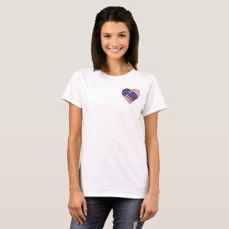 We Are America White t-shirt Women