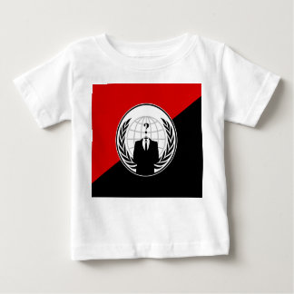 We Are Anonymous Anarchist Flag Baby T-Shirt