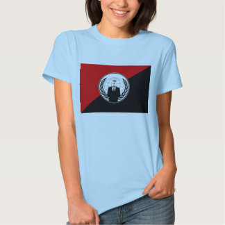 We Are Anonymous Anarchist Flag T-shirt