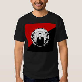 We Are Anonymous Anarchist Flag Tees