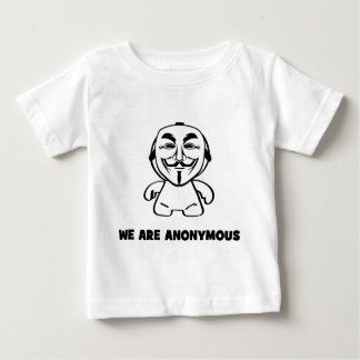 We Are Anonymous Baby T-Shirt