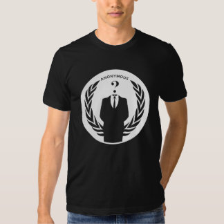 We Are Anonymous Logo Tee Shirts