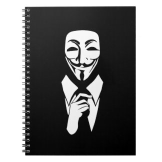 We are anonymous note books