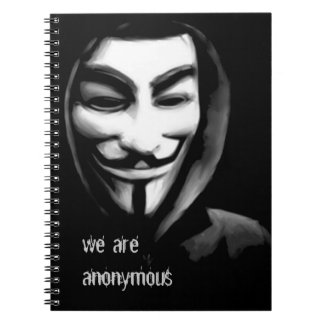we are anonymous notebooks