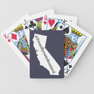 We are Californians We are proudly out of control Bicycle Playing Cards