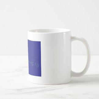 We are coming basic white mug