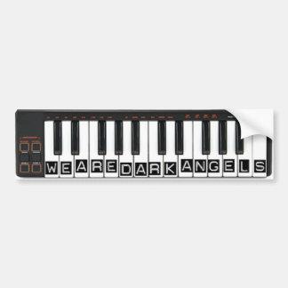 We Are Dark Angels Keyboard Sticker Car Bumper Sticker