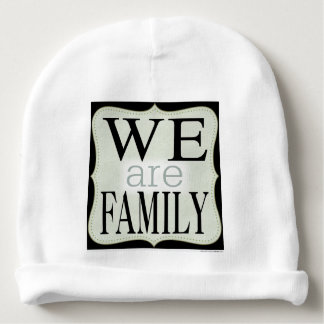 We Are Family Baby Beanie