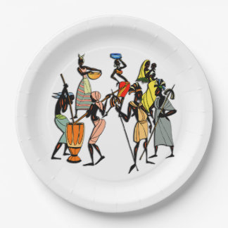 We Are Family BHM Party Paper Plates