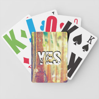 We are glad bicycle playing cards