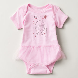 We are Here Baby Bodysuit