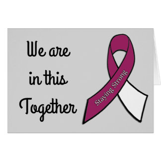We are in this Together, Head and Neck Cancer Card