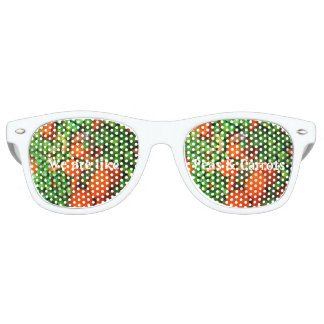 We are like peas and carrots retro sunglasses