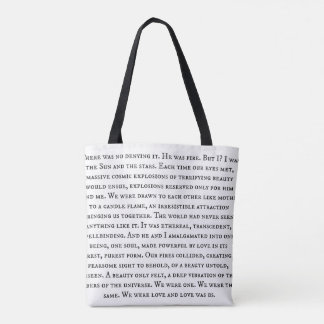 We Are Love Tote Bag