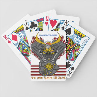 WE ARE MADE OF FUEL V2 BICYCLE PLAYING CARDS
