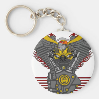 WE ARE MADE OF FUEL V2 KEYCHAIN