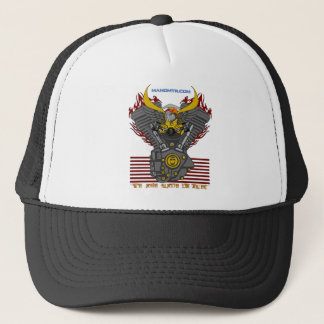 WE ARE MADE OF FUEL V2 TRUCKER HAT
