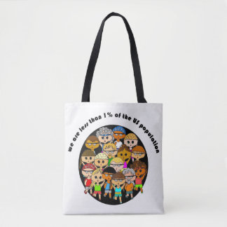 We are marathon runners shopping tote bag
