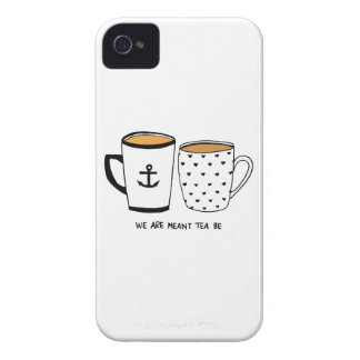 We are Meant Tea Be iPhone 4 Case