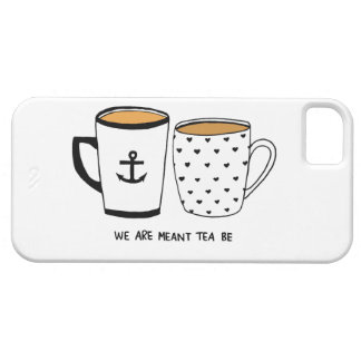 We are Meant Tea Be iPhone 5 Case