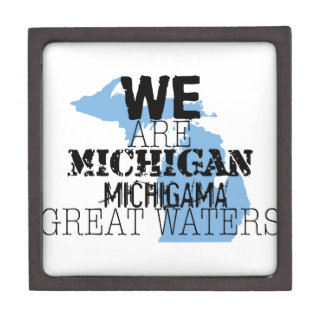 We Are Michigan Michigama Great Waters Premium Trinket Boxes