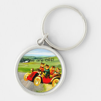 WE ARE OFF-TRAVELING WILDCARS KEYCHAIN