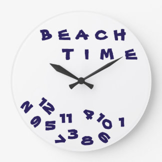 """""""WE ARE ON ***BEACH TIME*** WITH THIS COOL CLOCK"""