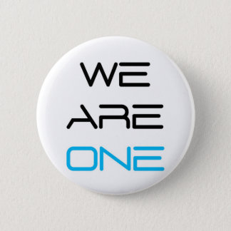 We are One 2 Inch Round Button