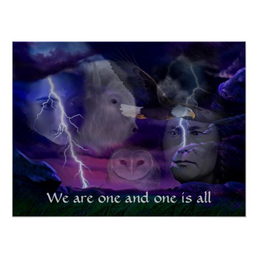 We are one and one is all posters