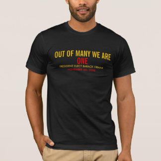 WE ARE ONE - BLK T-Shirt