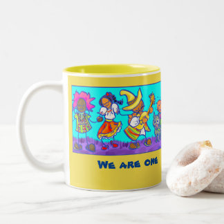 We are one! Mug to celebrate Peoplelove