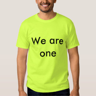 We are one tees