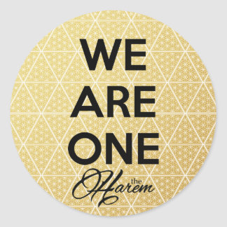 We Are One The Harem Stickers