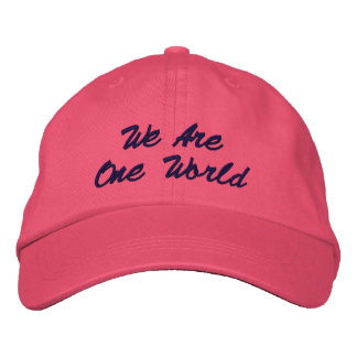 We are one world Hat