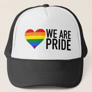 WE ARE PRIDE TRUCKER HAT
