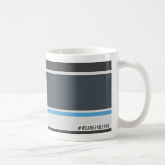 We Are Railfans Scottish grey Coffee Mug