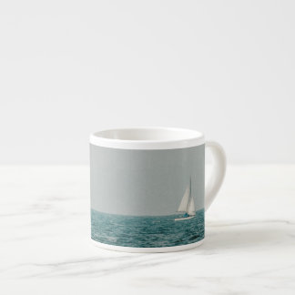 We are sailing espresso cup