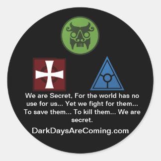 We are Secret sticker